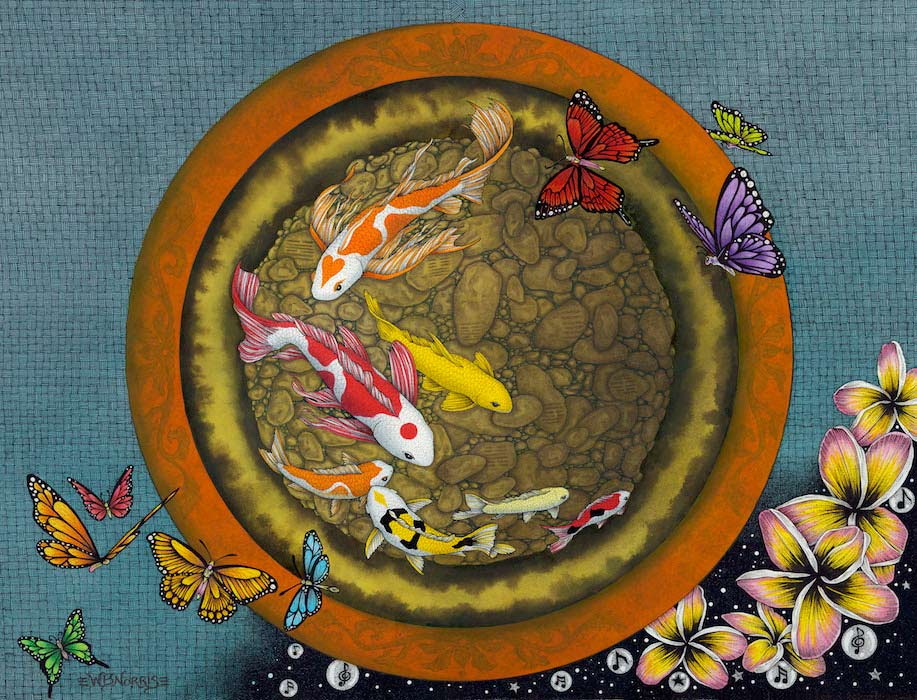 Butterfly Dream VI (I Ching Fishpot)