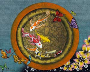 Butterfly Dream VI (I Ching Fish Pot)